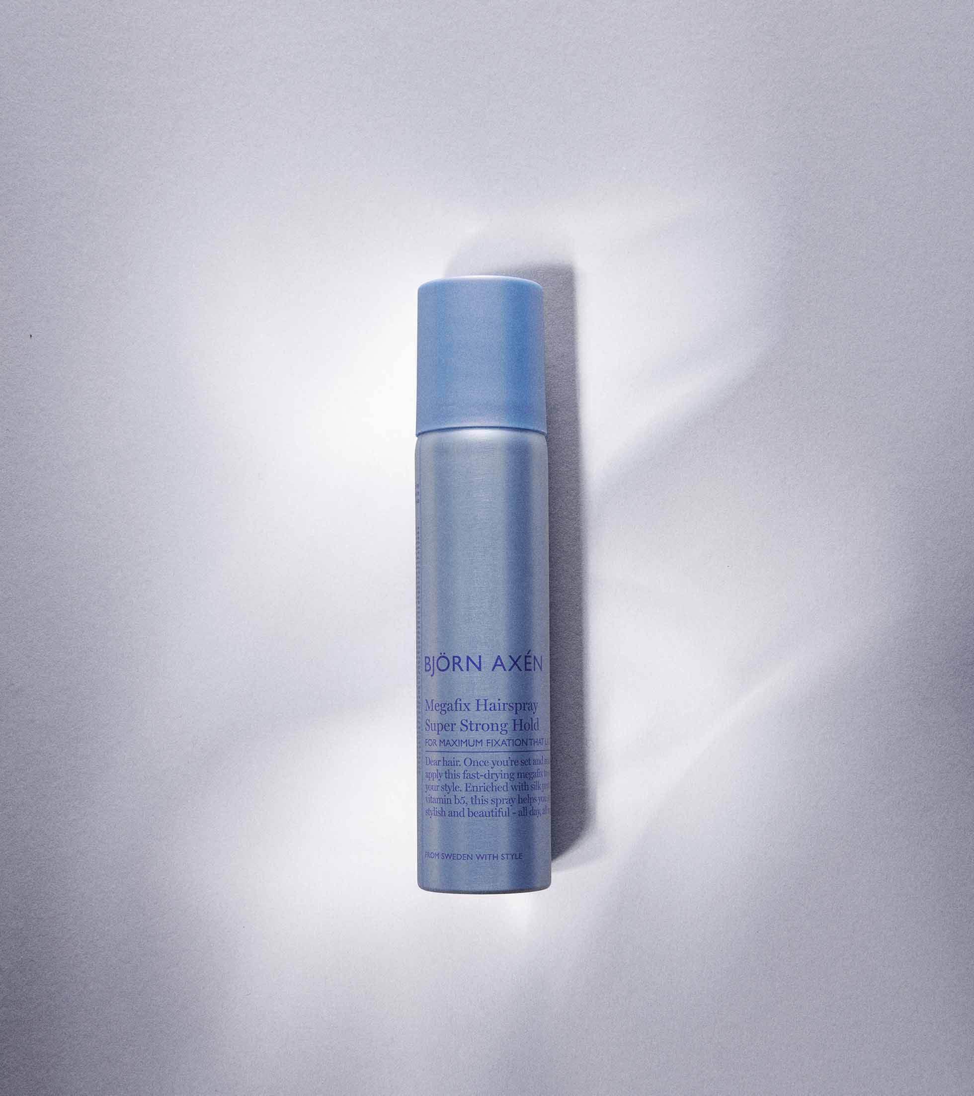 Megafix Hairspray travel size