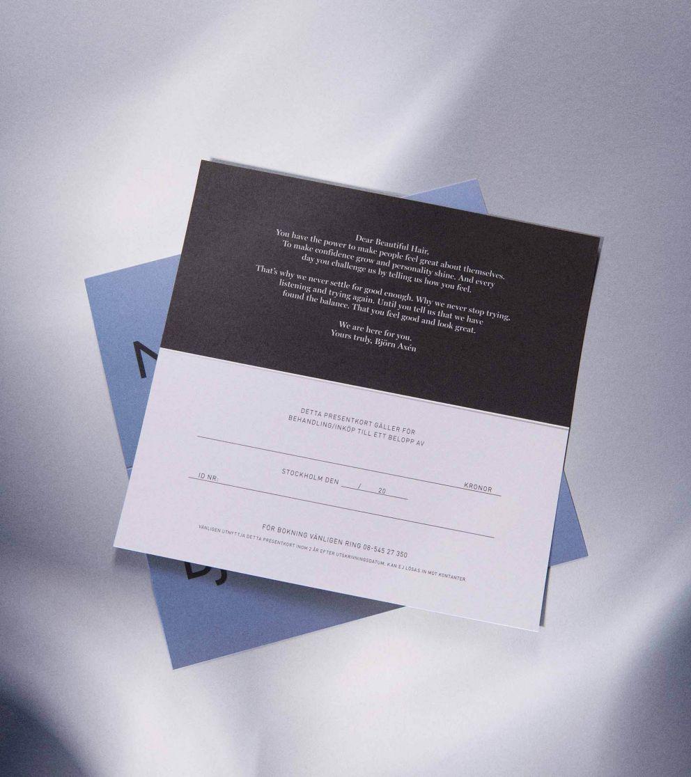 Presentkort 1250 kr